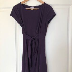 Purple Pea in the Pod Maternity Dress